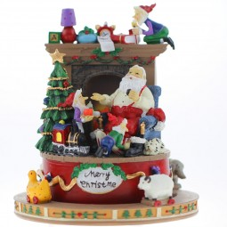 Spieluhr Weihnachtsszene