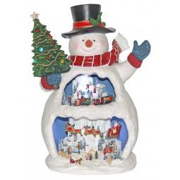 Spieluhr Großer Schneemann