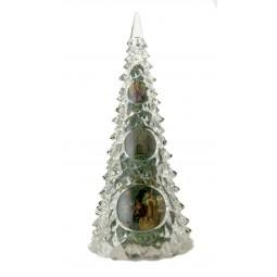 Spieluhr Weihnachtsbaum in Acryl