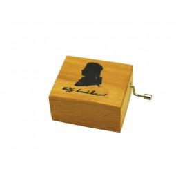 Spieluhr Holzdose Mozart