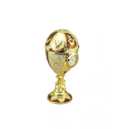Schmuckei im Stil Fabergés goldfarben