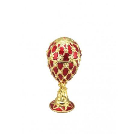 Fabergé Ei (rot)