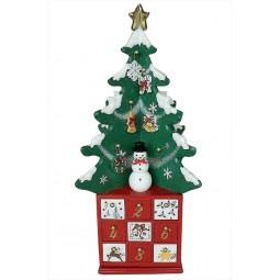 Spieluhr Adventskalender Tannenbaum