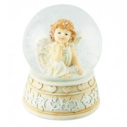 Spieluhr Denkender Engel