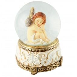 Spieluhr Schlafender Engel