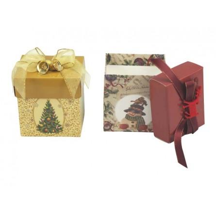 Display mit 12 Geschenkeboxen