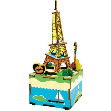 Eiffelturm Puzzle aus Holz